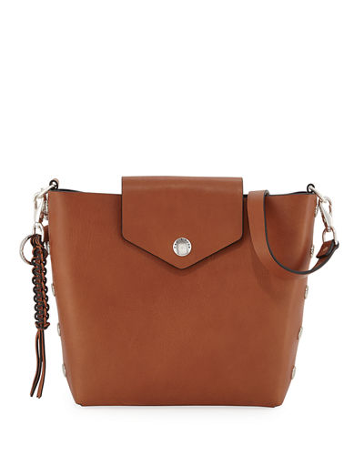 Atlas Leather Bucket Bag