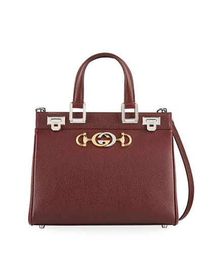 Gucci Zumi Small Grain Top-Handle Bag