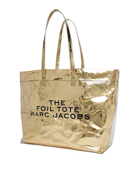 MARC JACOBS Leathers THE FOIL LOGO TOTE BAG