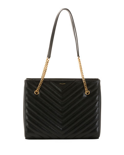 Tribeca Medium Double Chain Shoulder Bag