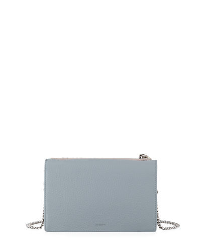 AllSaints Fetch Chain Wallet Crossbody Bag