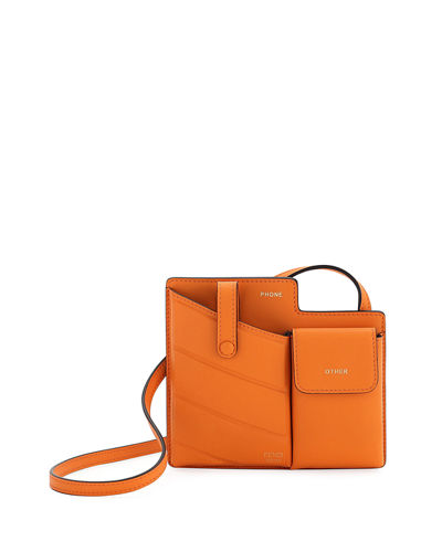 Bustine Mini Century Calf Crossbody Bag