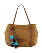 Eric Javits Squishee Aegean Shoulder Bag