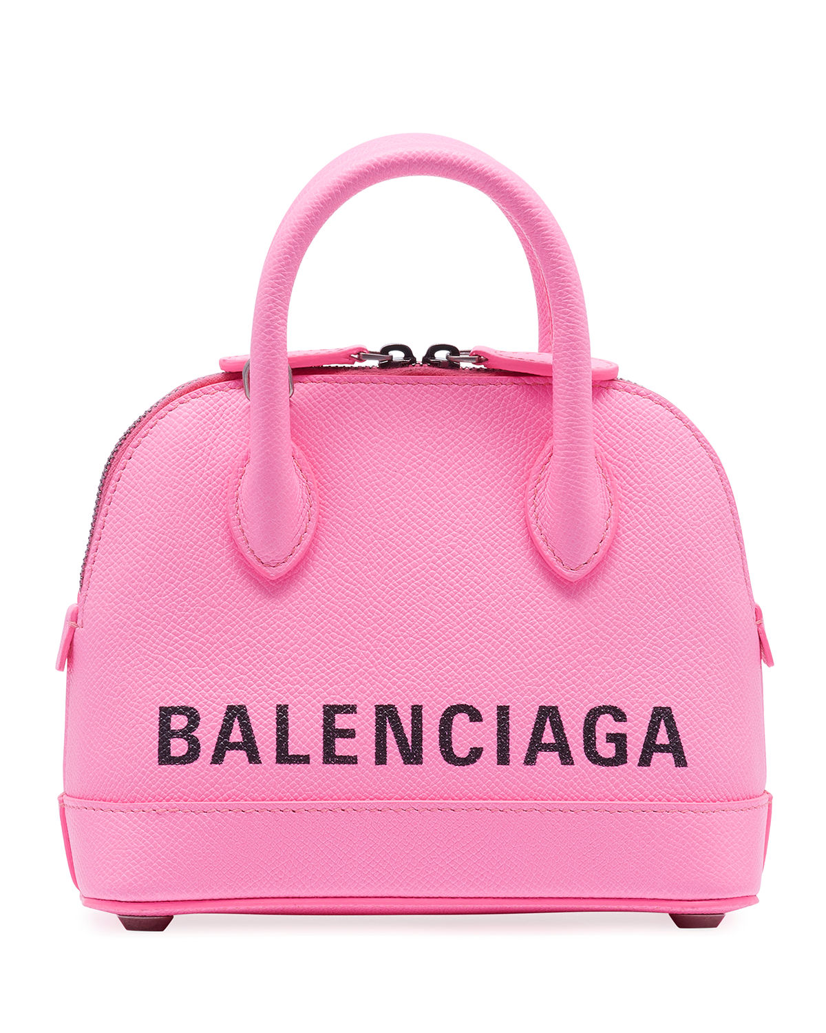 Wedding Gift Stores Nyc: Balenciaga Ville XXS AJ Top-Handle Bag With Logo