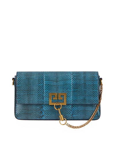 Givenchy Charm Small Snake Shoulder Bag