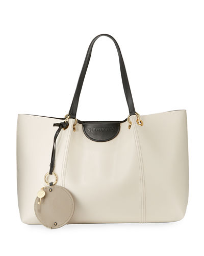 Marty Leather Tote Bag