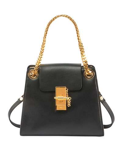 Annie Mini Smooth Shiny Shoulder Bag