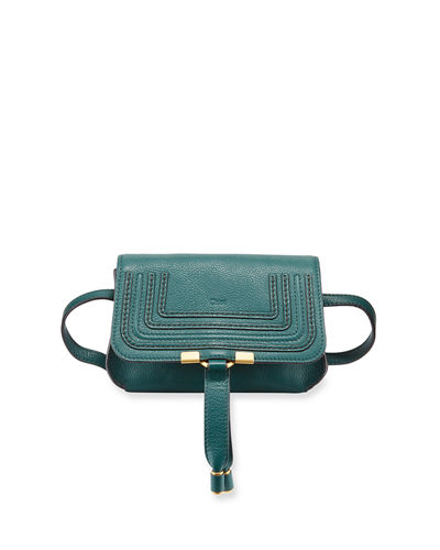 Marcie Small Leather Belt Bag