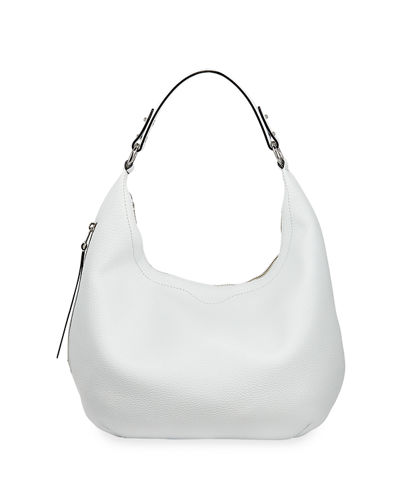 Michelle Medium Zip-Top Hobo Bag