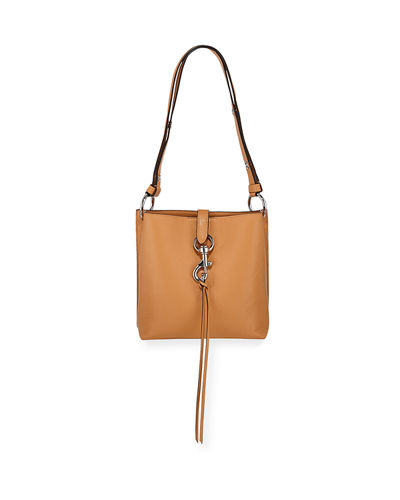 Megan Small Leather Feed Bag