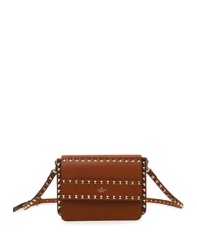 Rockstud Small Leather Shoulder Bag