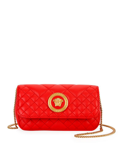 Icon Micro Quilted Leather Crossbody Bag