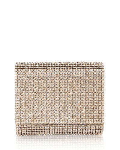 Micro Fizzy Beaded Clutch Bag