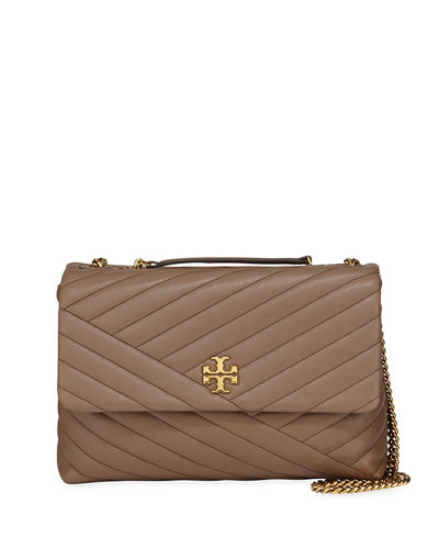 Kira Chevron Quilted Shoulder Bag