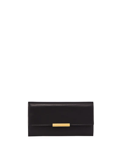 Large French Calf Continental Wallet