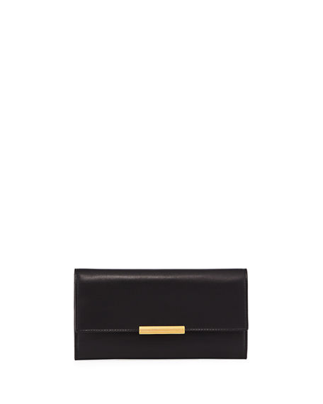 Bottega Veneta Large French Calf Continental Wallet