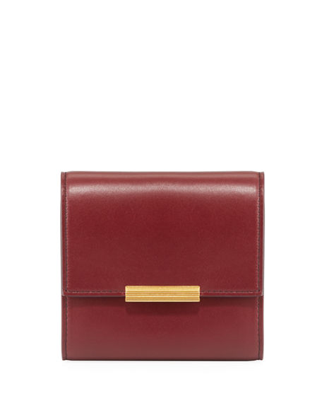 Bottega Veneta Mini French Calf Continental Wallet