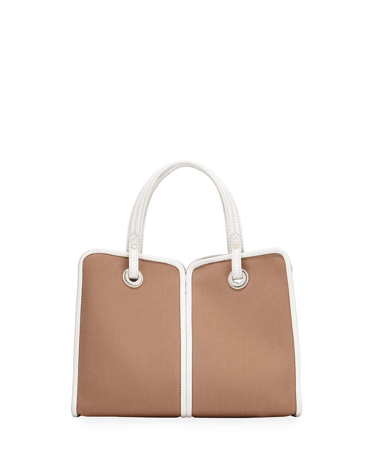 Two Tone Medium Canvas Satchel Bag by Kate Spade New York