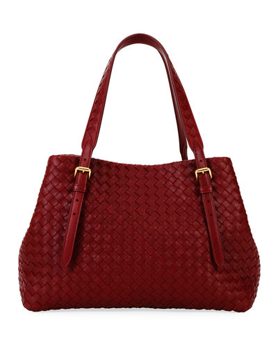 Cesta Small Leather Tote Bag