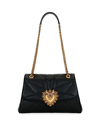 Devotion Soft-Sided Leather Shoulder Bag