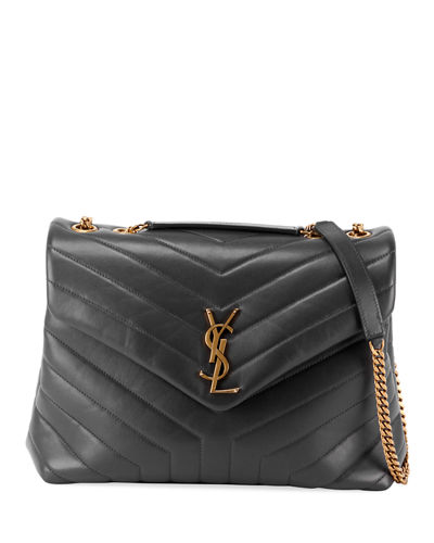 Loulou Leather Shoulder Bag