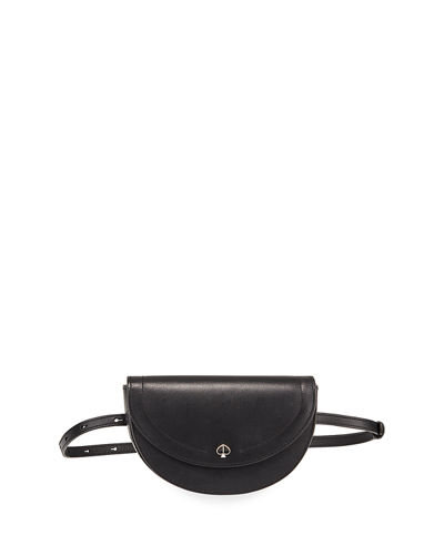 small half-moon belt bag