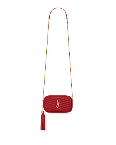 Monogram YSL Camera Crossbody Bag