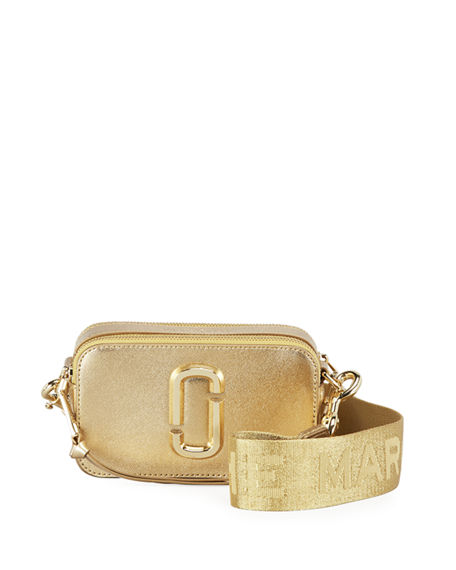 The Marc Jacobs Snapshot Metallic Crossbody Bag
