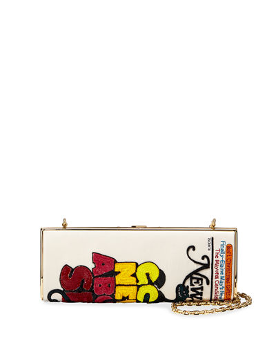 x New York Magazine The Mag Clutch Bag