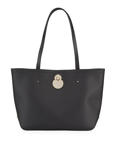 Cavalcade Leather Shoulder Tote Bag