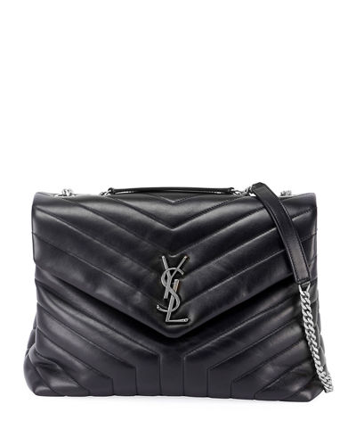 Loulou Y-Quilted Shoulder Bag