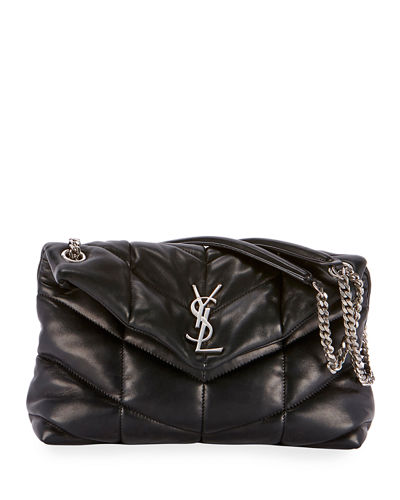 Saint Laurent Lou Lou Puffer Shoulder Bag