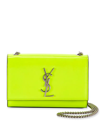 Kate Monogram Small Neon Leather Crossbody Bag