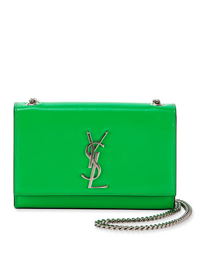 89030a66e Quick Look. Saint Laurent · Kate Monogram Small Neon Leather Crossbody Bag