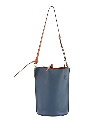 Gate Soft Grained Bucket Bag