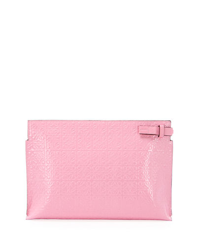 Loewe T Medium Repeat Pouch Clutch Bag