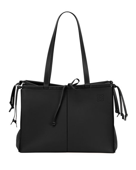 Loewe Cushion Soft Grained Calf Leather Tote Bag