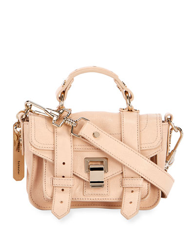 Ps1 Micro Lux Metallic Crossbody Bag