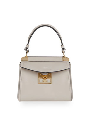 7b9cc20609 Givenchy Mystic Small Calfskin Top-Handle Bag
