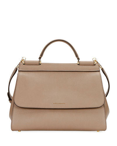 Sicily Soft Top-Handle Bag