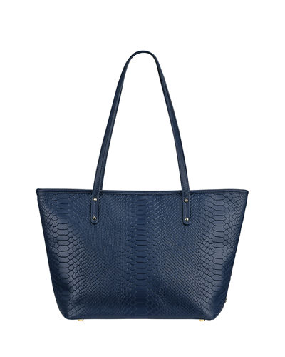 Gigi New York Taylor Alligator-Print Tote Bag