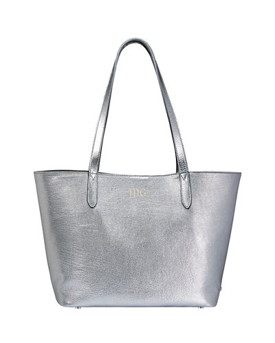 Teddy Metallic Tote Bag