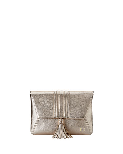 Ava Metallic Clutch Bag
