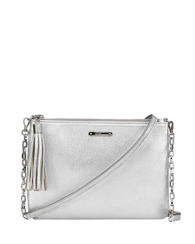 Chelsea Metallic Crossbody Bag