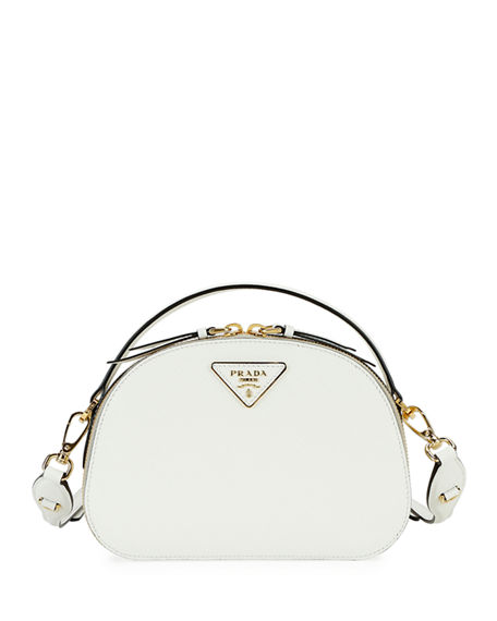 Prada Prada Odette Top-Handle Bag w/ Removable Crossbody Strap