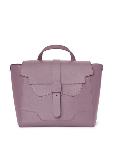 Maestra Mimosa Leather Satchel Bag