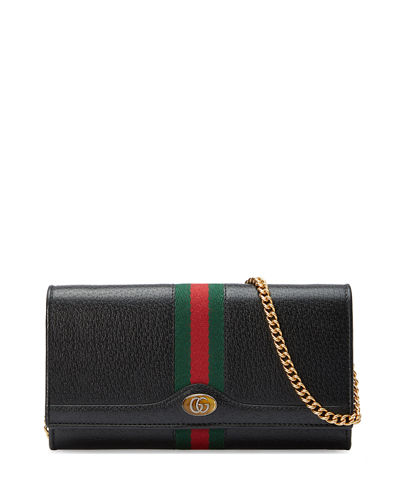 fc75151a2945 Gucci Petite Marmont Wallet on a Chain from Neiman Marcus - Styhunt
