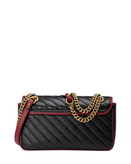 Image 4 of 4: Gucci GG Marmont 2.0 Small Shoulder Bag - Golden Hardware