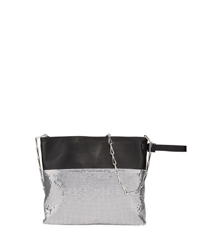 Section Chain-Mail Pouch Clutch Bag