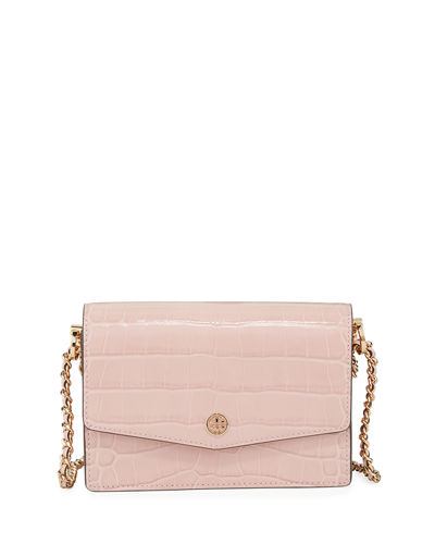 Robinson Embossed Mini Shoulder Bag
